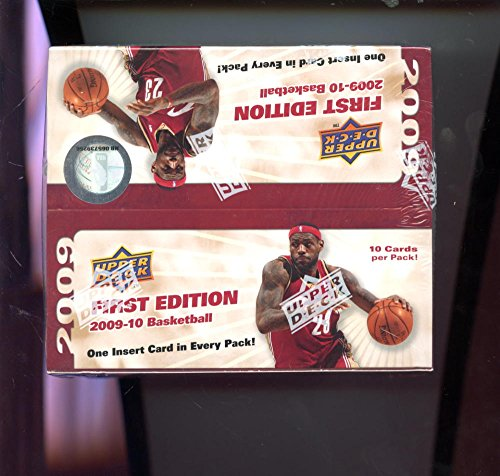 2009-10 Upper Deck First Edition Set NBA Basketball 09-10 Wax Pack Box 2010 Stephen Curry Rookie Card Possible