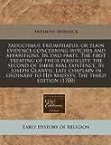 Saducismus Triumphatus, Anthony Horneck, 1171332866