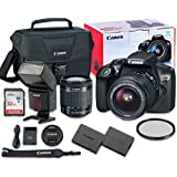 Canon EOS Rebel T6 Digital SLR Camera Bundle with EF-S 18-55mm f/3.5-5.6 IS II Lens + SanDisk 32GB Ultra Class 10 SDHC + Accessory Kit (5 Pieces)