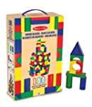 Melissa & Doug 100 Wood Building Bloc...