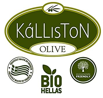 Kalliston Volcano Sea Spa Cream Organic Olive Oil Activated Hand Body Cream Made in Ancient Crete, Greece 5.07 oz Each Pack of 2