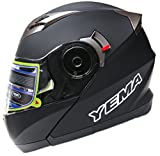Motorcycle-Modular-Full-Face-Helmet-DOT-Approved-YEMA-YM-925-Motorbike-Moped-Street-Bike-Racing-Snowmobile-Crash-Helmet-with-Sun-Visor-for-Adult-Men-and-Women