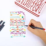 iBayam Journal Planner Pens Colored Pens Fine Point