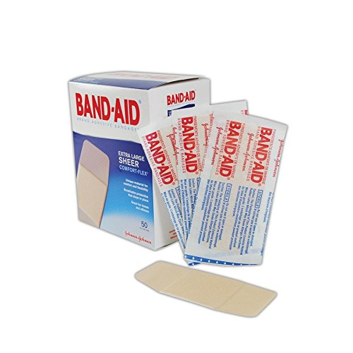 Band-Aid JJ5716 Sheer Bandages, 2
