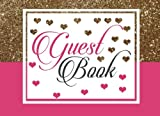 img - for Guest Book: For Wedding, Birthday, Events, Anniversary. Party Guest Book. Keepsake Gift for Wishes, Comments Or Predictions. book / textbook / text book