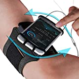 Phone Armband for Running Workout: Best Rotatable Sports Arm Band Strap Holder Pouch