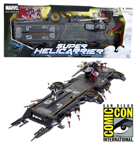 Amazon SDCC 2012 EXCLUSIVE MARVEL UNIVERSE SHIELD SUPER HELICARRIER By Marvel Toys Games