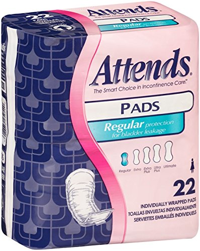 Amazon.com: Attends Incontinence Care Pads, Ultimate, 30 Count (Pack of 120): Health & Personal Care