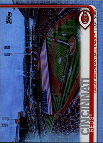 2019 Topps Rainbow Foil #691 Great American Ball Park Cincinnati Reds Series 2 MLB Baseball Trading Card