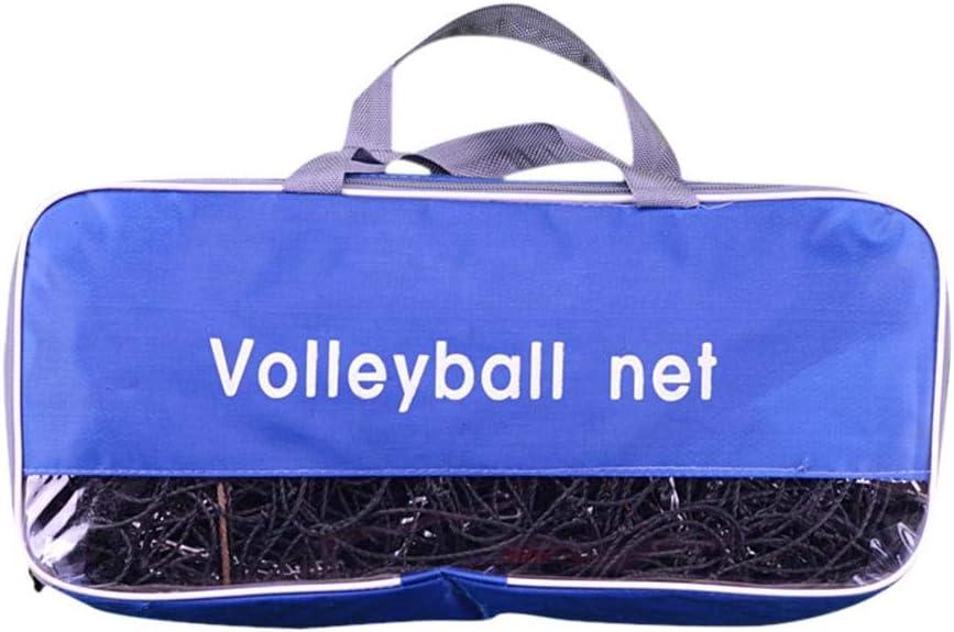 belukies Tennis Filet De Volleyball De Badminton pour Les Courts Int/érieurs Ou Ext/érieurs Songmics Portable Pliable Ajustable De Hauteur Moyenne De 4 M Les Plages Et Les All/ées