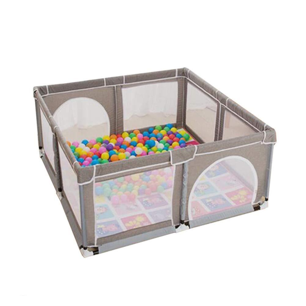 【お得】 幼児のベビーサークルの遊び場 B07P694J9X、携帯用防護柵、屋内と屋外での赤ちゃんのためのすばらしいギフト幼児子供、150×150×70 cm cm B07P694J9X, 生活優悠shop:6431ea0c --- a0267596.xsph.ru