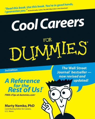 Cool Careers For Dummies 3e