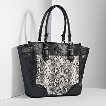 Amazon.com   Simply Vera Vera Wang Melbourne Python Tote   Shoulder Handbags    Beauty e108e9cd782fe