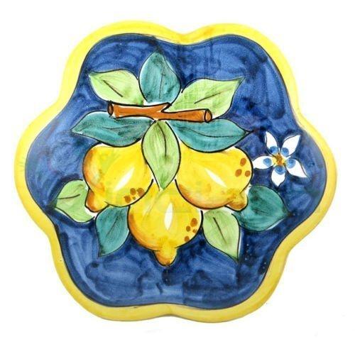 Sottopentola ceramica vietrese artiginale dipinta a mano ...