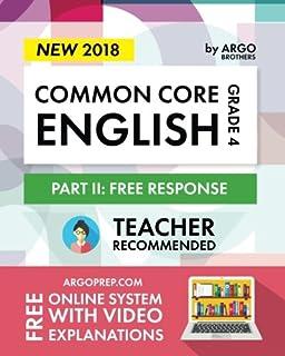 Amazon common core math workbook grade 4 free response argo brothers english workbook grade 4 common core free response 4th grade fandeluxe Images