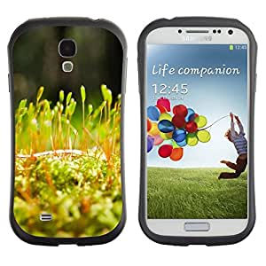 TopCaseStore Hybrid Rubber Case Hard Cover Protection Skin for SAMSUNG GALAXY S4 - Plant Nature Forrest Flower 54