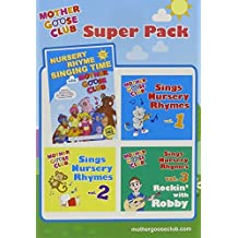 Mother Goose Club Super Pack - DVD & 3 Vol CD Set