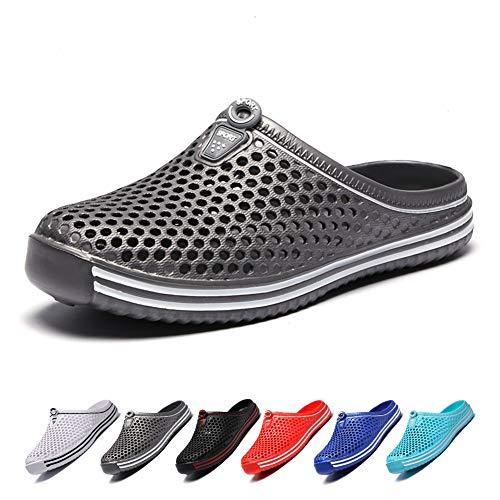 Coolloog Unisex Garden Clogs Shoes Casual SlippersComfort Lightweight Anti-Slip Beach Shoes for Men and Women