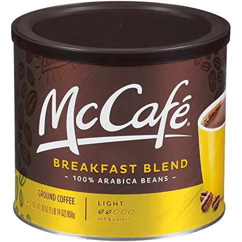 McCafe Breakfast Blend Ground Coffee, 30 Ounce