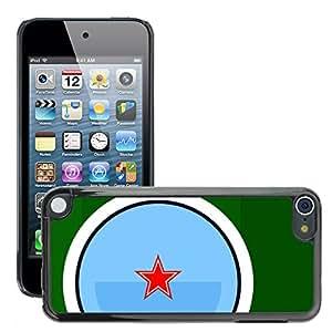 Super Stellar Slim PC Hard Case Cover Skin Armor Shell Protection // M00052438 s aero vector art pellegrino // Apple iPod Touch 5 5G 5th