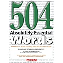 504 Absolutely Essential Words by Bromberg, Murray 5th (fifth) edition (2005) Paperback