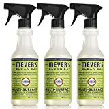 Mrs. Meyer's Clean Day Multi-Surface Everyday Cleaner takes the basic formula of our All Purpose Cleaner and adds a special Vegetable Protein Extract, a fresh way getting rid of kitchen messes and bathroom odors. Combines garden-fresh scent with plan...