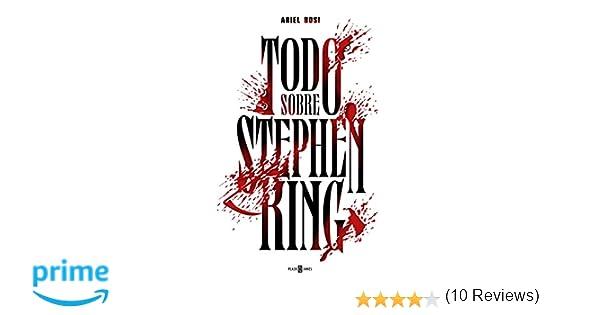 Todo sobre Stephen King (OBRAS DIVERSAS): Amazon.es: Ariel ...
