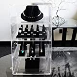 Mooca Acrylic Lockable Showcase Display Stand with