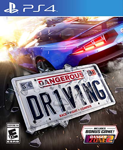 Dangerous Driving (PS4) - PlayStation 4 (Best Race Game Ps4)