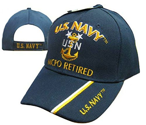 Wildbill's U.S. Navy Master Chief Petty Officer Retired Cap ()