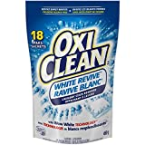 OxiClean White Revive Laundry Stain Remover Paks, 18 Count