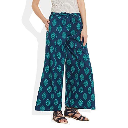 ShalinIndia - Pantalón - para mujer Azul