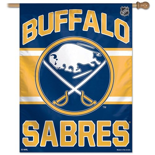 WinCraft NHL Buffalo Sabres Vertical Flag, 27