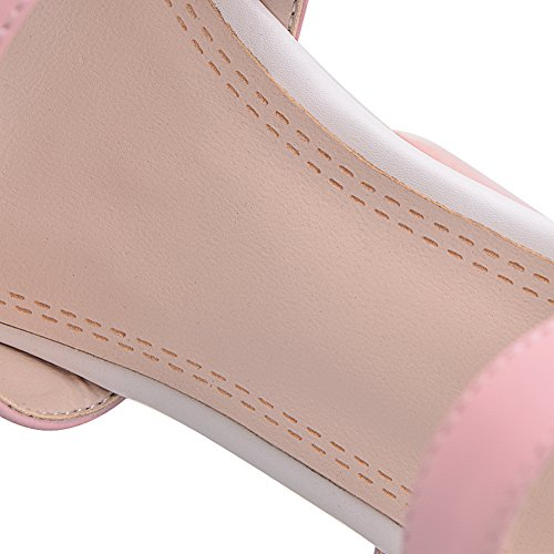 Solid Sandals Soft 1TO9 Girls Studded Rain Material Rivet Pink wqUEU0Xg