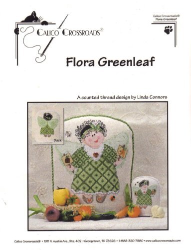 Flora Greenleaf Counted Cross Stitch - Shop Gift Crossroads