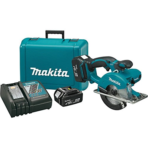 Makita XSC01M LXT Lithium Ion Cordless Metal Cutting Saw Kit, 5-3/8-Inch