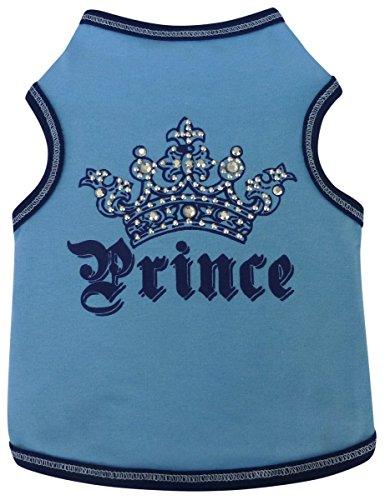 I See Spot 928558BLU5 Crown Prince Blue Dog Pet t-shirt tank-Shirts, - See Inc