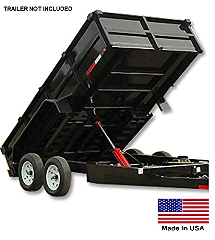 Trailer Dump Kit for 9 Ft to 12 Ft Beds - 7.5 to 10.8 Ton Capacity - Made in Usa - Dump Bed Kit