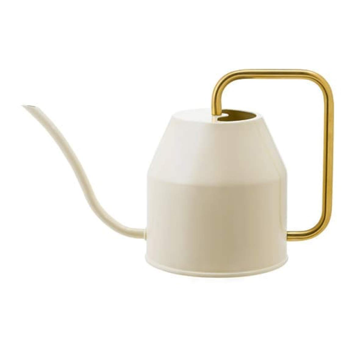 2 Pack IKEA Vattenkrasse Watering Can Ivory Gold 403.941.18 Size 30 oz