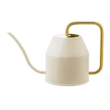 IKEA Vattenkrasse Watering Can Ivory Gold 403.941.18 Size 30 oz