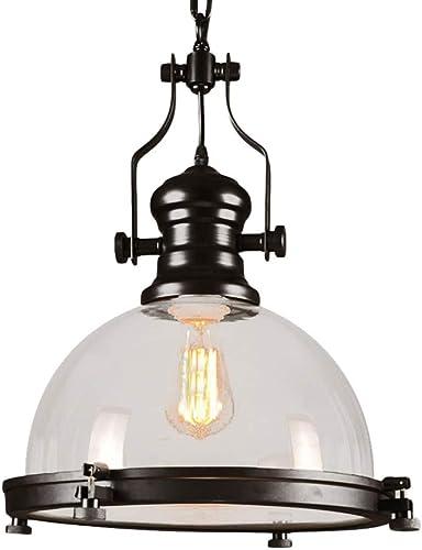 Industrial Nautical Glass Pendant Light