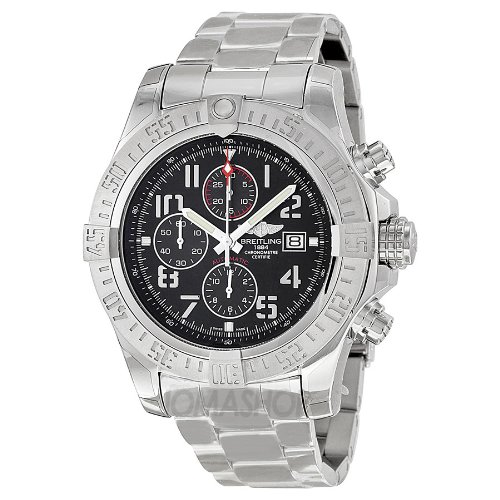 breitling-mens-bta1337111-bc28ss-super-avenger-ii-analog-display-swiss-automatic-silver-watch