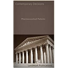 Pharmaceutical Patents (Intellectual Property Law Series)