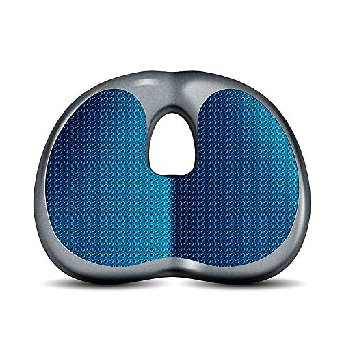 - Orthopedic Seat Cushion, Memory Foam Gel Sitting Pillow for Back Pain, Sciatica for Office and Kitchen Chair, Wheelchair, Car, Truck