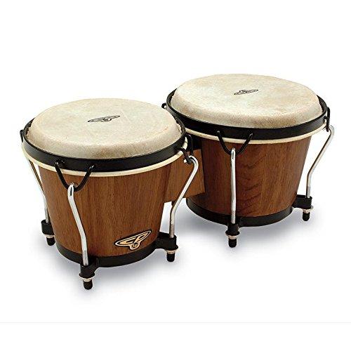 CP221DW Dark Wood Bongos by Latin Percussion