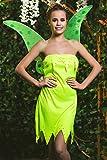 Adult Women Halloween Costume Flower Fairy Pixie Dress Up & Role Play