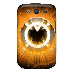 New Style ShirleyZelaya Hard Case Cover For Galaxy S3- Orange Lantern Corps