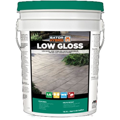 Gator Hybrid Seal Low Gloss 5 Gal for Dry Cast Concrete Pavers