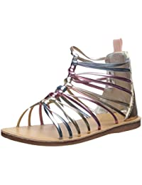 Kids Sarafina Girl's Metallic Gladiator Sandal