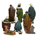 """Kurt Adler N0290 1.75"""" - 8"""" Polyester Nativity"""